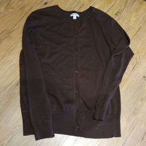 Brown sweater long sleeve